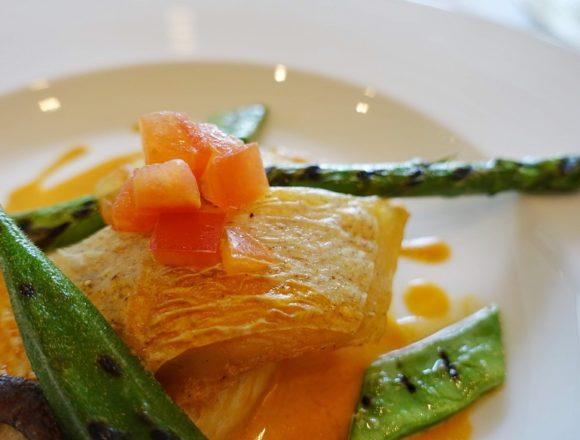 テラスロンド魚ランチ