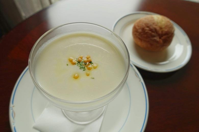 テラスロンド短角牛スープ