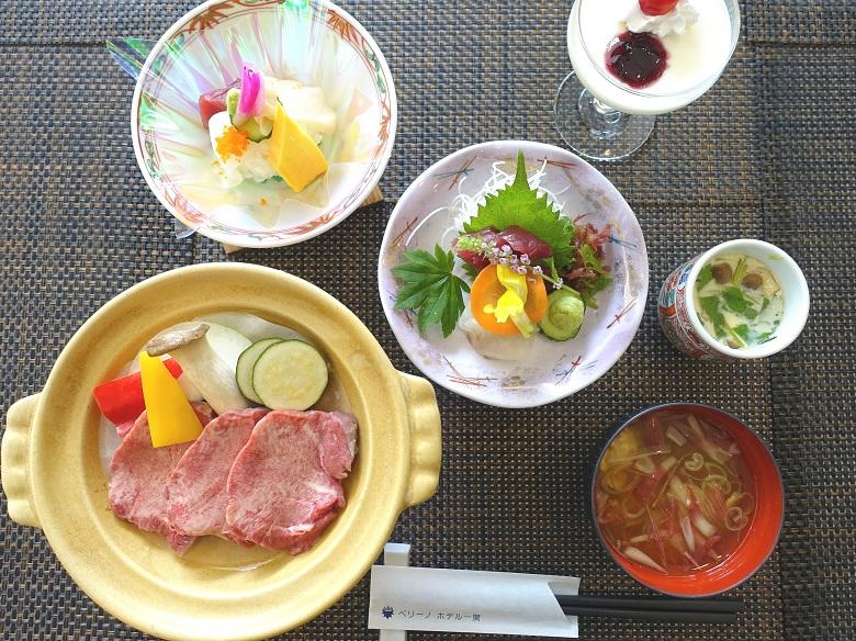 レストランテラスロンド2019年7月のメニュー和食膳の写真