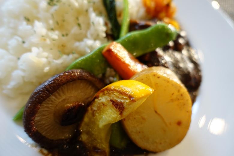 テラスロンドカレー野菜
