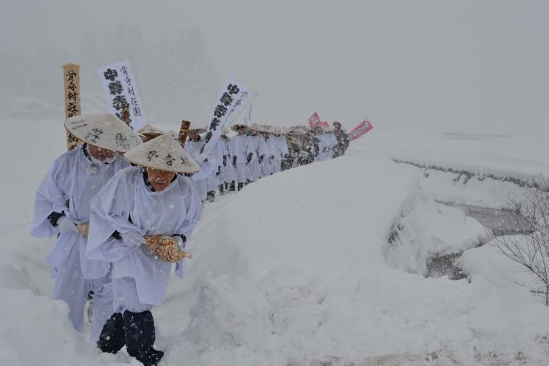 テラスロンド本寺の冬