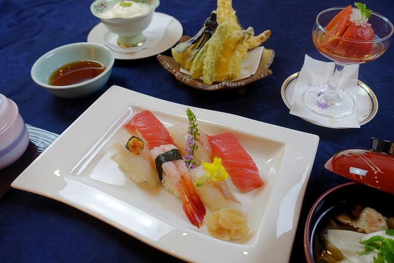 寿司天ぷら